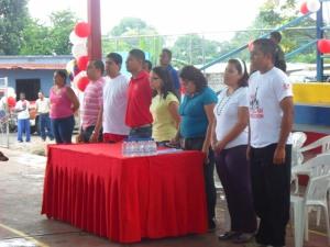 Doce voceros de la sala de batalla en construcción El Maizal fueron abanderados como los máximos responsables de construir la comuna